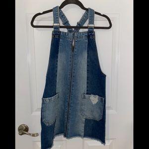 Denim overalls from Forever 21